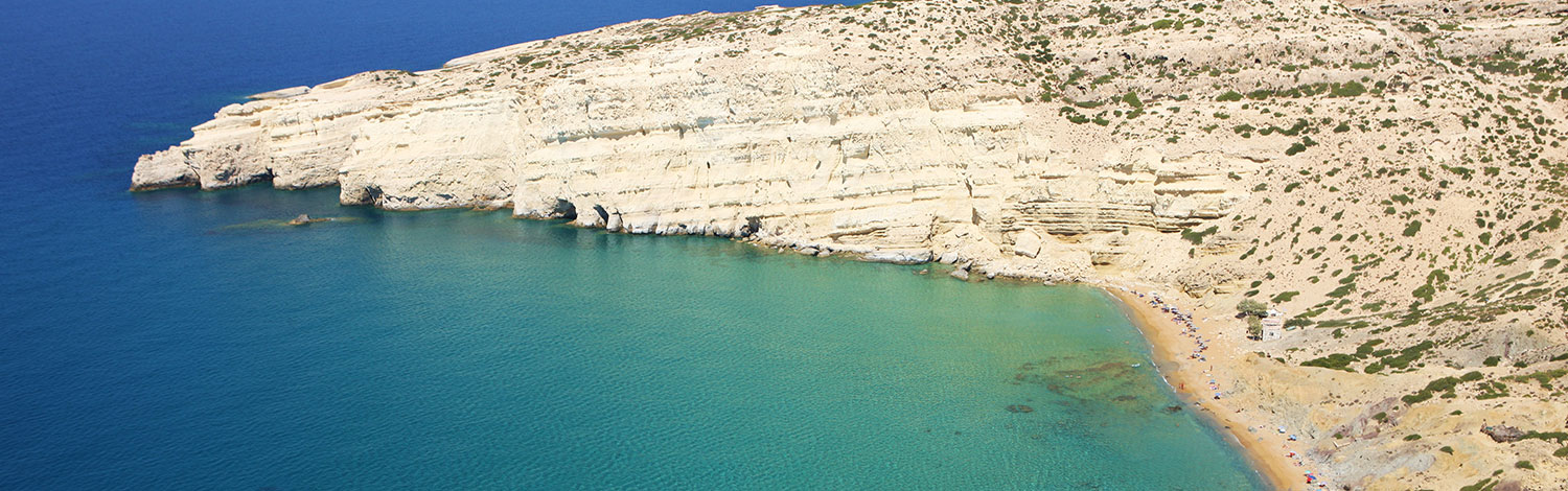 Experience in Matala  the holiday of your life